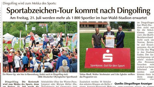Bild Dingolfinger Anzeiger Sportabzeichen DOSB, Sportbund, Olympia, Dingolfing, Strohmaier, BLSV, Landessportverband.jpg