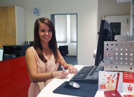 Azubi Eugenie Schwab erzählt über Ihre Ausbildung bei der Sparkasse NIederbayern-Mitte