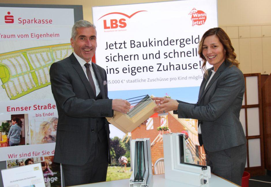 Beratungstage und Gebäudetechnik zum Anfassen in der Sparkasse.