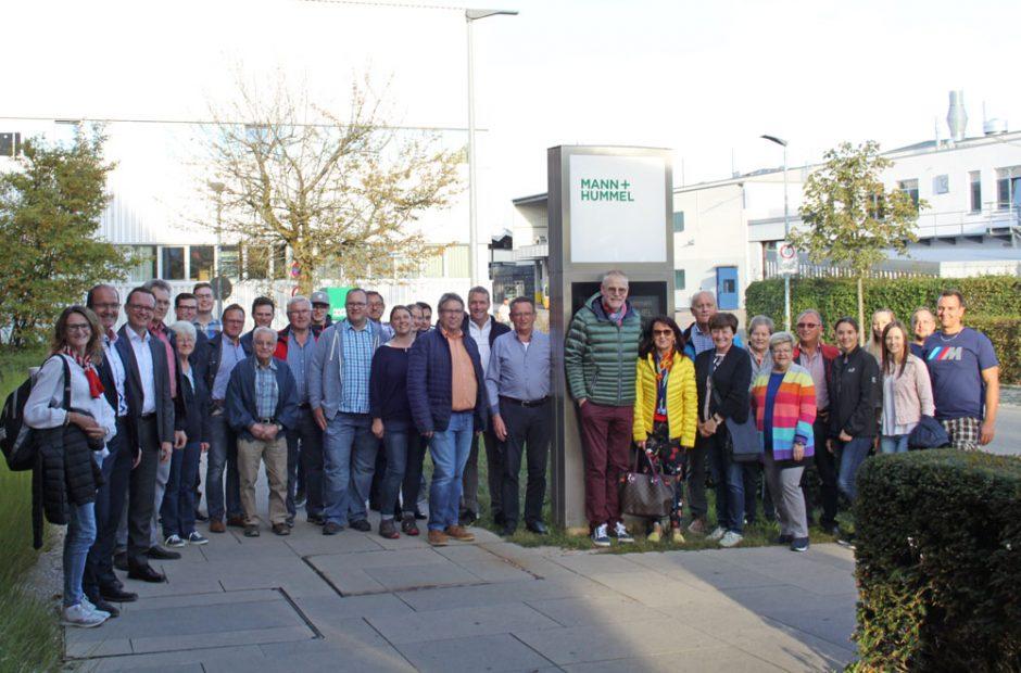 starpac premium Event: Besichtigung Filterwerk MANN+HUMMEL in Marklkofen