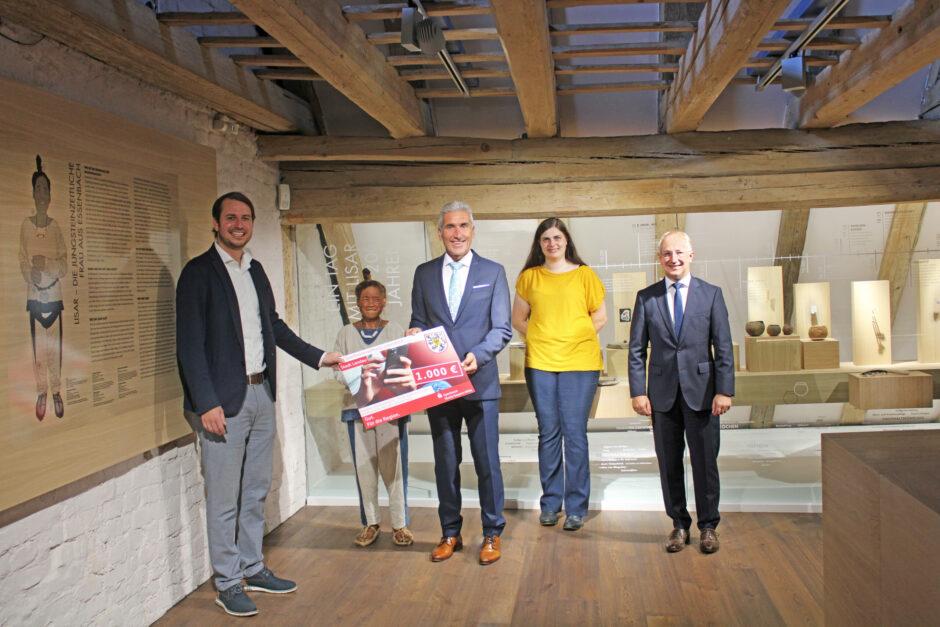 1000 Euro für den Kastenhof in Landau